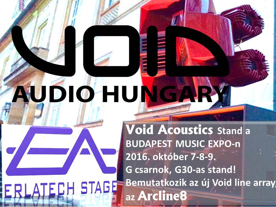 VOID Stand, Budapest Music Expo 2016